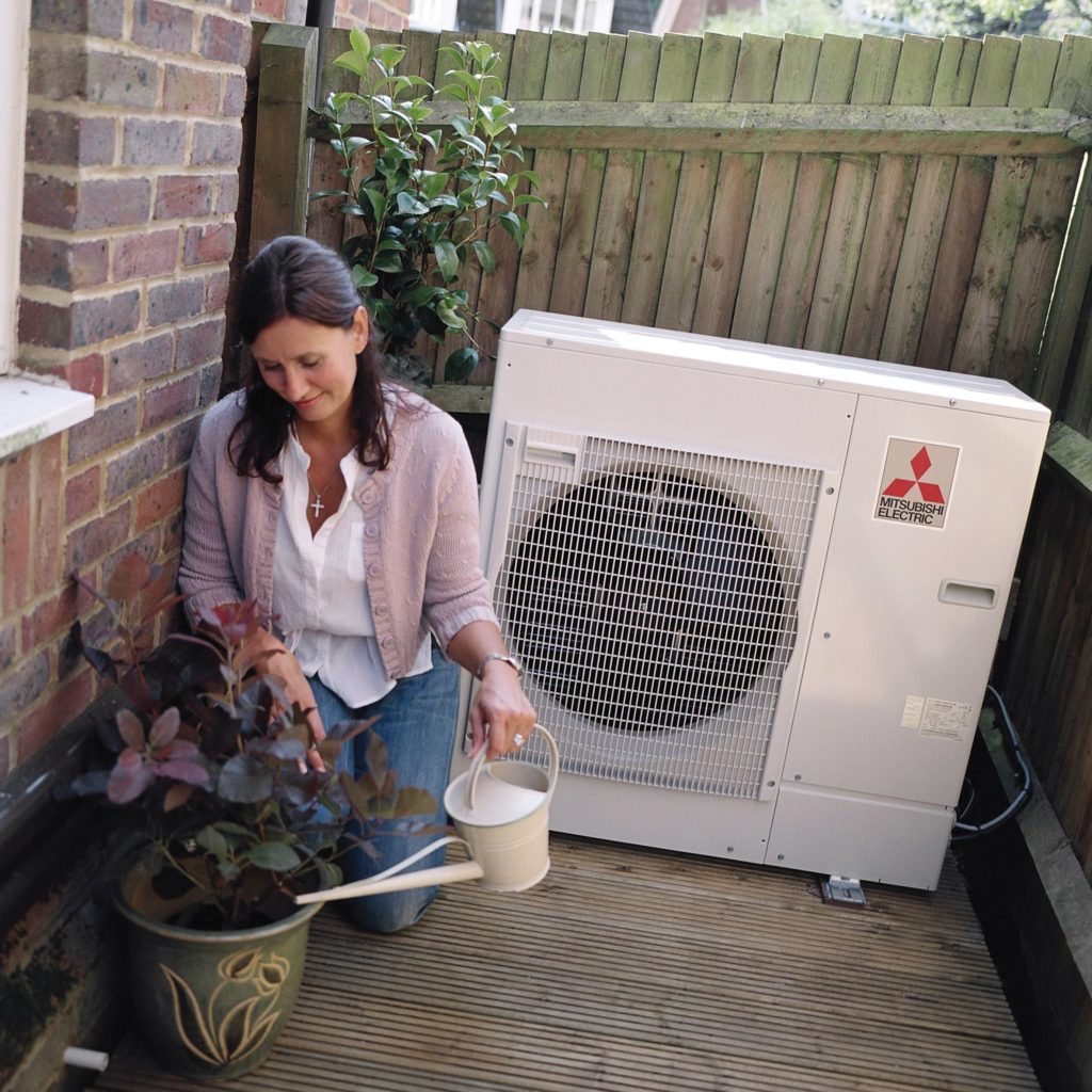 The Benefits heat pumps